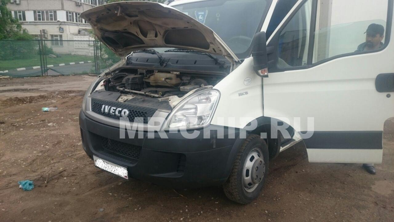 IVECO Daily увеличение мощности и отключение ЕГР.