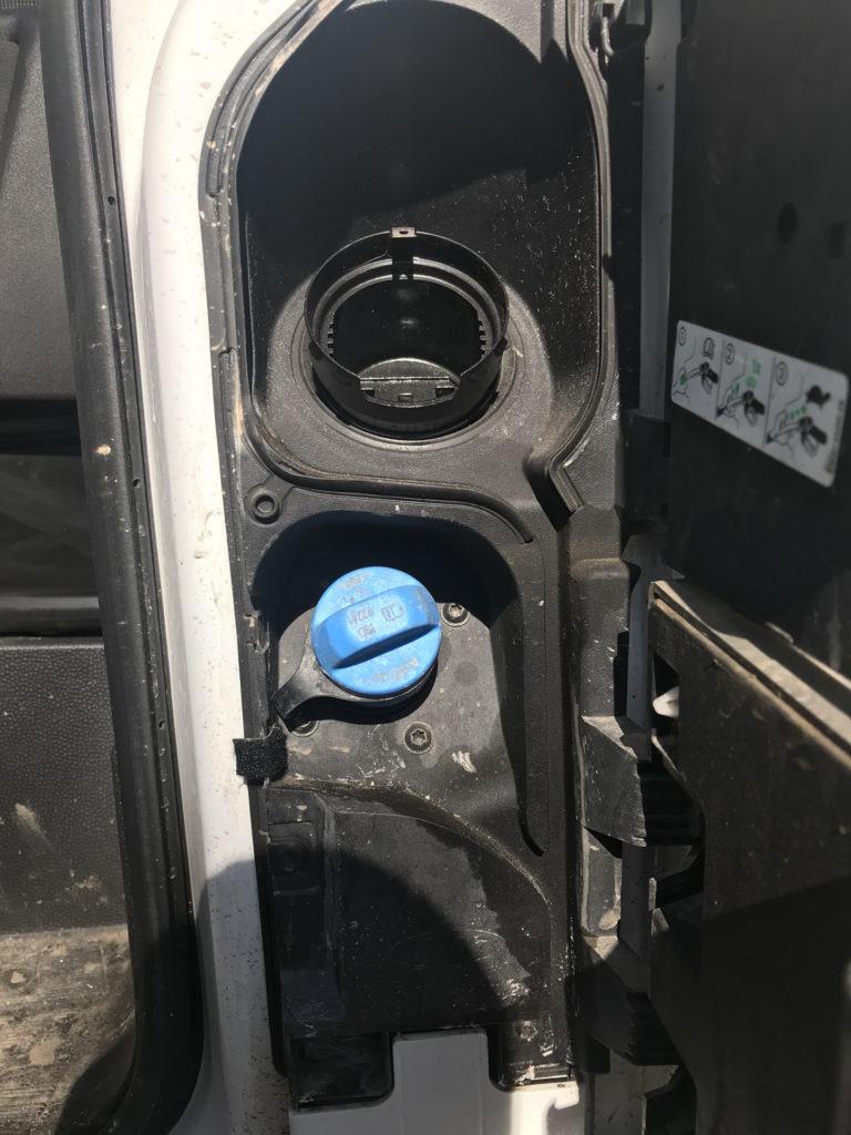 Отключить AdBlue Ford Transit