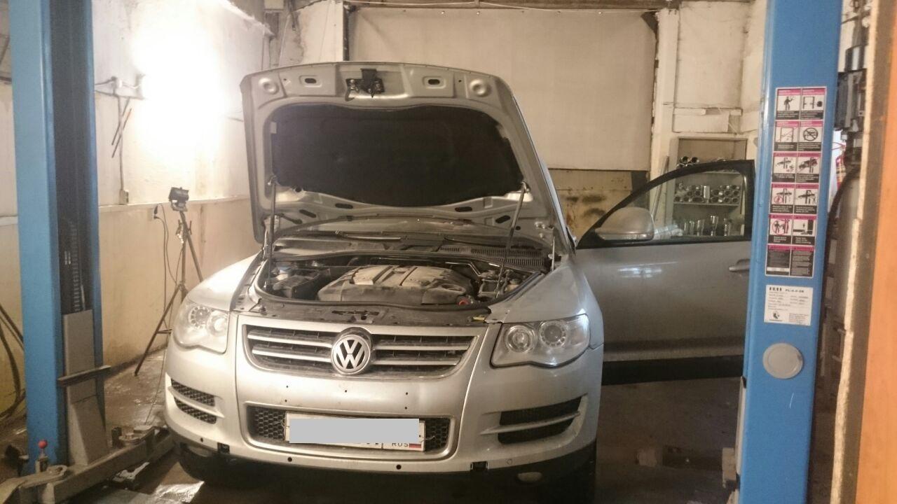Volkswagen Touareg программное отключение сажевого фильтра и увеличение мощности.