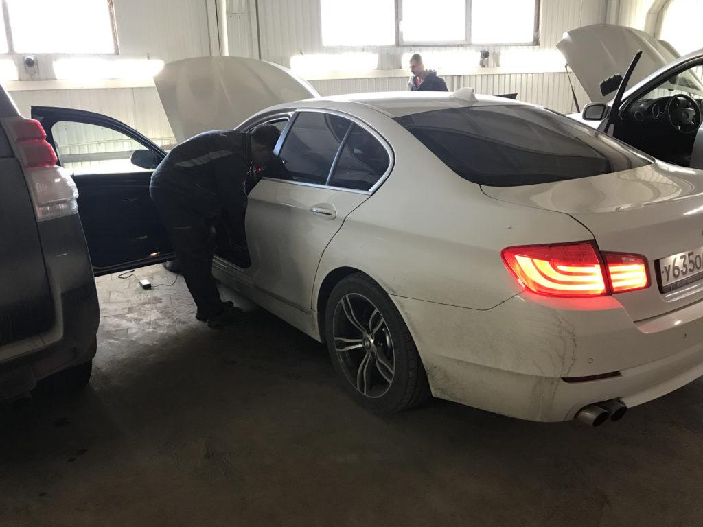 Чип-тюнинг BMW F10 520