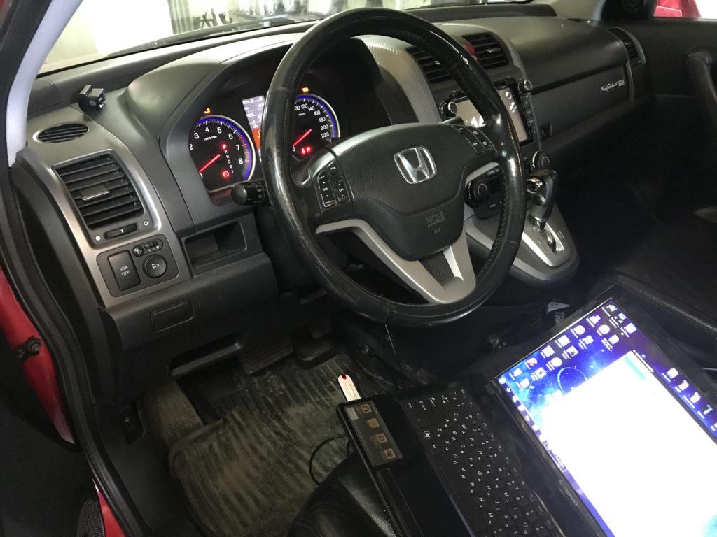 Чип-тюнинг Honda CRV 2.0