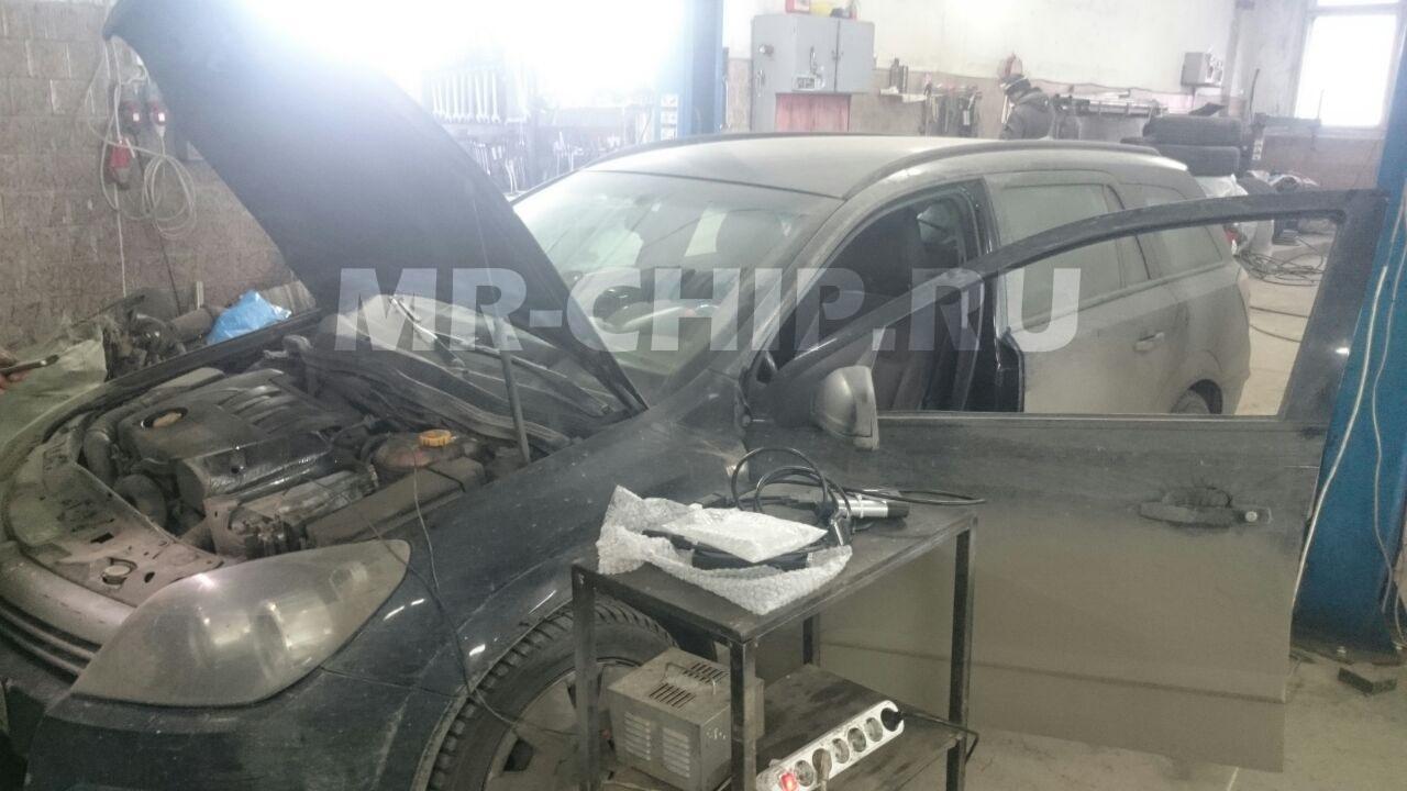 Opel Astra программное отключение сажевого фильтра.