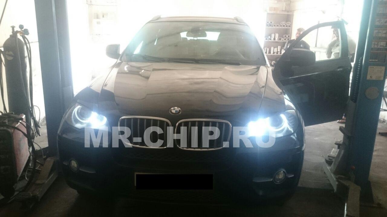 BMW X6 отключение сажевого фильтра и увеличение мощности двигателя.