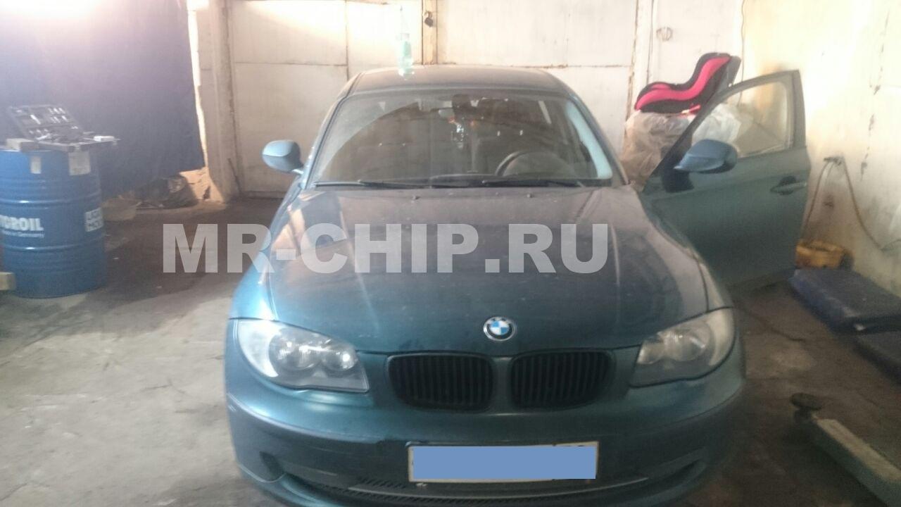BMW 1 E87 программное отключение сажевого фильтра, клапана ЕГР и увеличение мощности двигателя.