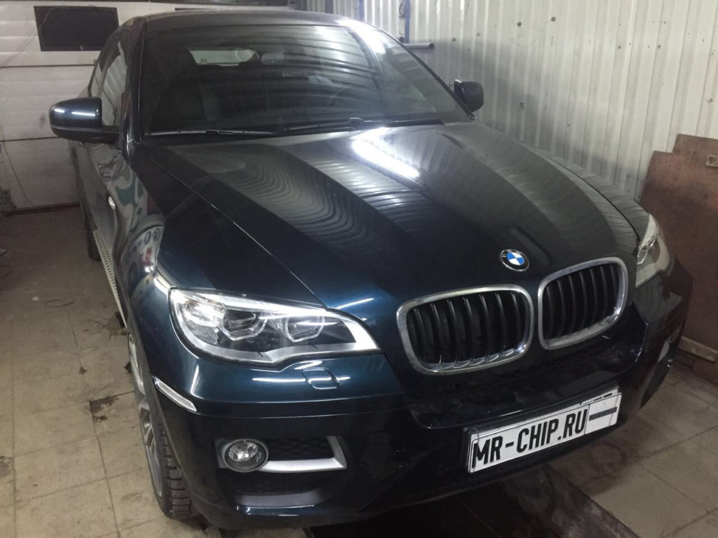 Фотография №2 Чип-тюнинг BMW X6 e72 3,5
