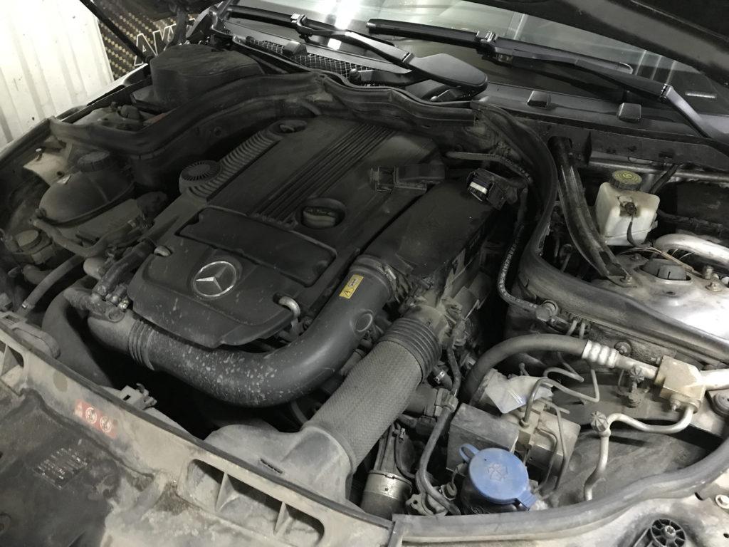 Фотография №2 Чип-тюнинг Mercedes C 204 1,8 турбо