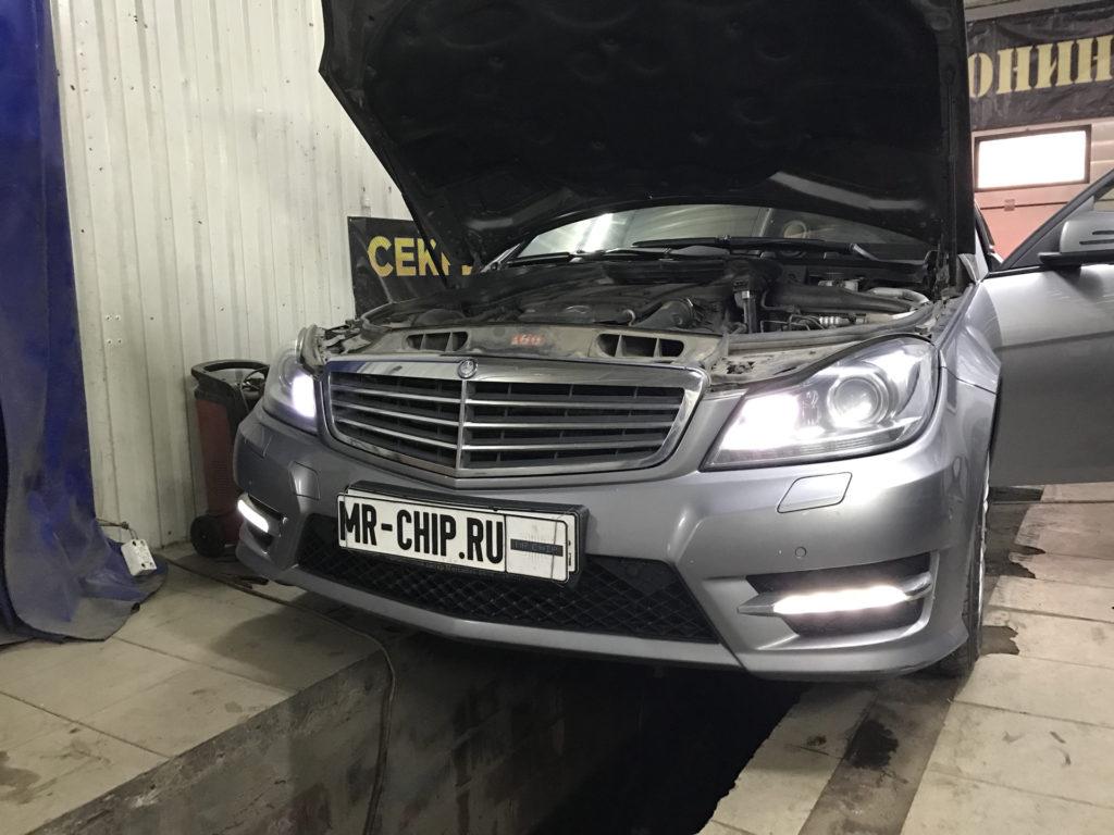 Фотография №5 Чип-тюнинг Mercedes C 204 1,8 турбо