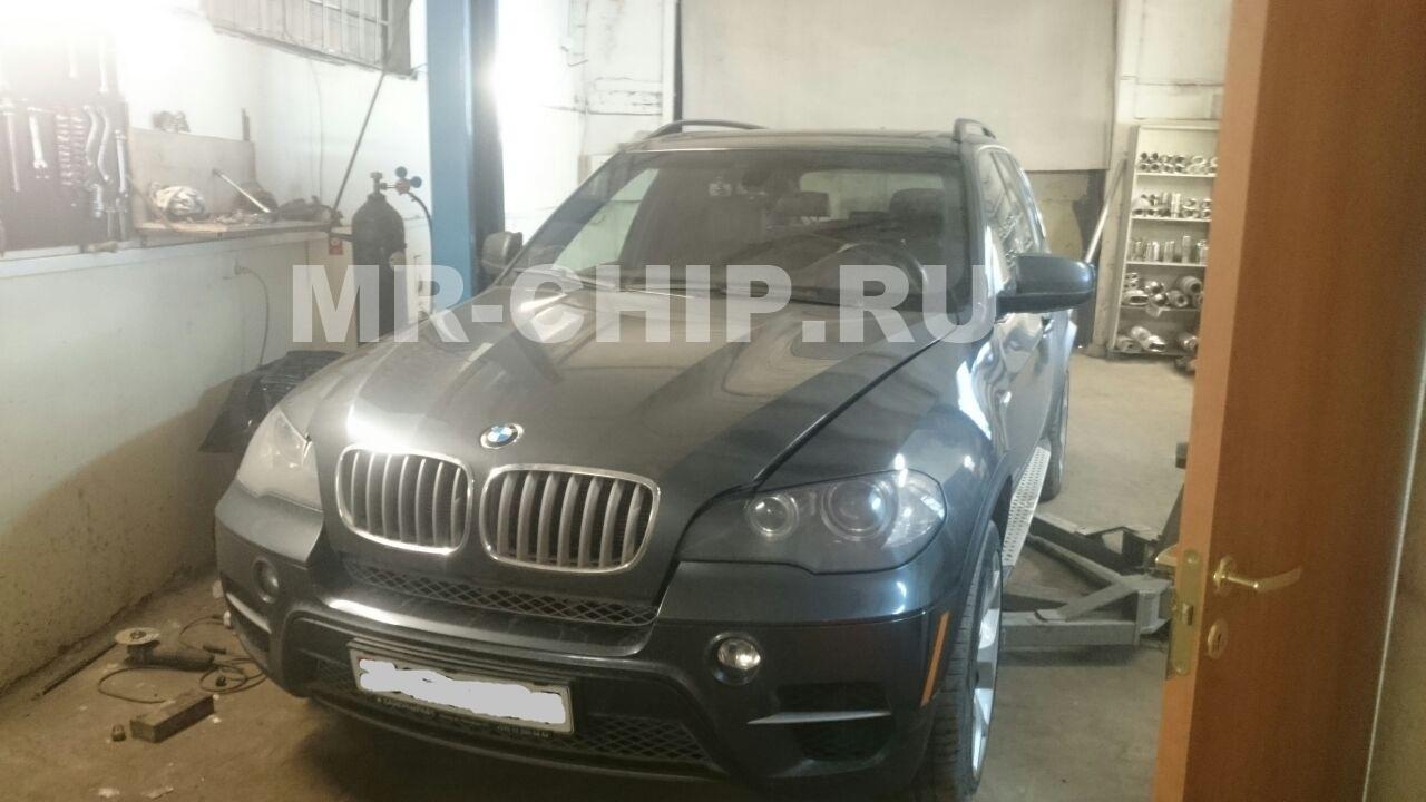 BMW X5 программное отключение AdBlue(SCR), сажевого фильтра, увеличение мощности двигателя и физическое удаление сажевого фильтра.