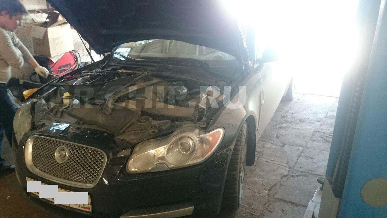 Jaguar XF отключение сажевого фильтра и увеличение мощности